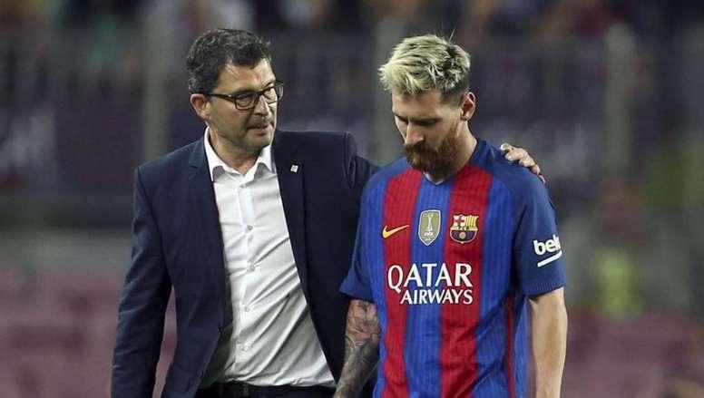 'COPE': Pruna deja el Barça tras casi 26 años en la entidad. EFE
