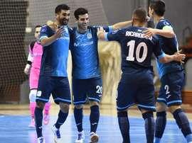 El partido acabó 4-3. InterMovistar