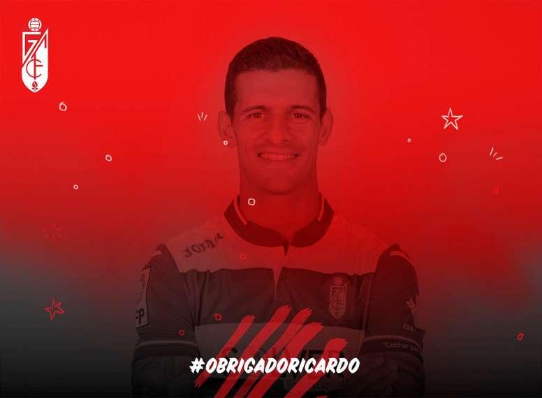 Ricardo Costa abandona el Granada. GranadaCF