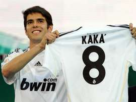 Kaká custou 65 milhões de euros e seu rendimento no Real foi muito inferior ao esperado. EFE/EPA