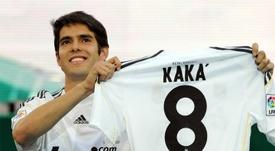Kaká costó 65 millones y su rendimiento en el Real Madrid fue muy inferior al esperado. Archivo/EFE