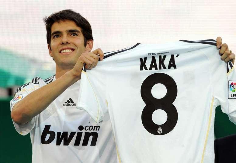 Kaka was very poor at Real Madrid despite costing 65 million euros. Archivo/EFE