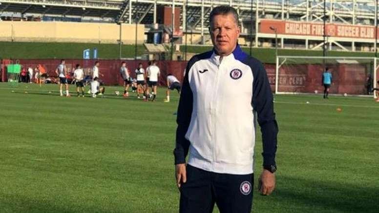 Cruz Azul quiere la vuelta de Ricardo Peláez. Instagram/rpl9
