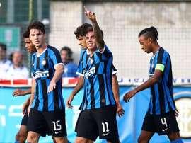 L'Inter Milan déclare forfait pour la Youth League. . Twitter/Inter