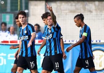La UEFA suspenderá dos partidos de la Youth League que se juegan en Lombardía. Twitter/Inter