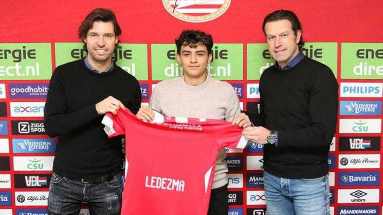 Ledezma ha firmado por dos temporadas. PSV