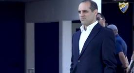 Shaheen se convirtió hace poco en director general del equipo. Captura/MálagaCF