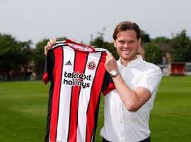 Los 'blades' ya cuentan con un nuevo fichaje, el de Richard Stearman. Sheffield United
