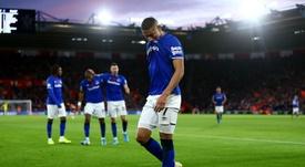 Richarlison hizo el 1-2 definitivo para el Everton. Twitter/Everton