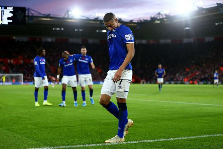 Ancelotti veut garder Richarlison. Twitter/Everton
