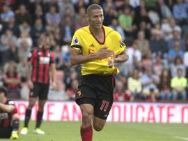 Richarlison celebrando gol. WatfordFC