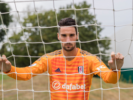Sergio Rico is one of the men causing Bettenelli to consider his options.  Twitter/FulhamFC