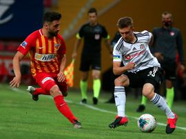El Besiktas perdió 3-1. Twitter/Besiktas