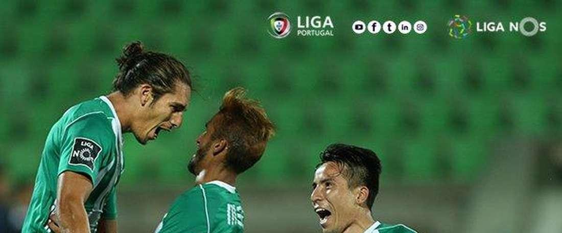Rio Ave voltou aos triunfos no campeonato português. Twitter/Liga NOS