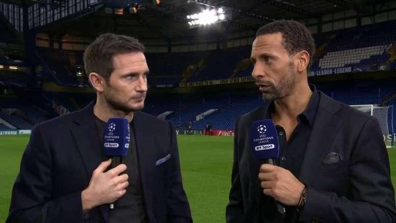 Lampard puede empezar a ponerse serio en los banquillos. Captura