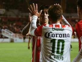 Reparto de puntos en la Copa México. ClubNecaxa
