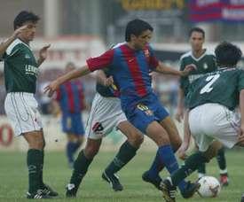 El Novelda llegó a eliminar al Barcelona de la Copa. MD