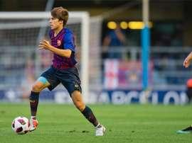 Riqui Puig no pudo ser protagonista. FCBarcelona