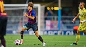 Riqui Puig en sélection catalane. FCBarcelone