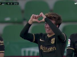 Il Barcellona vince contro l'Elche. Movistar
