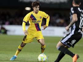 Il giovane centrocampista del Barça Riqui Puig. FCBarcelona