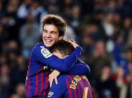 Riqui Puig a parlé de sa situation au Barça. EFE