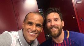 Rivaldo destacó el resurgir de Messi. Instagram/RivaldoOficial