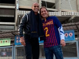 Rivaldo ganó a Míchel Salgado y este tuvo que ponerse la camiseta azulgrana. Betfair