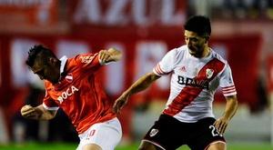 River cayó ante Independiente por 0-3 en la Primera División Argentina. SelecciónArgentina