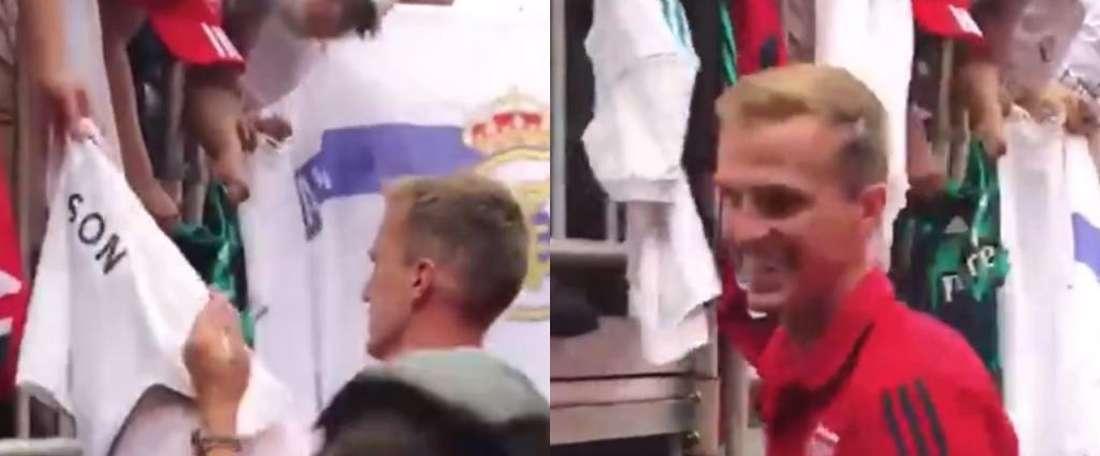 Holding quase assinava camisola do eterno rival do Arsenal. Capturas/ArsenalMedia