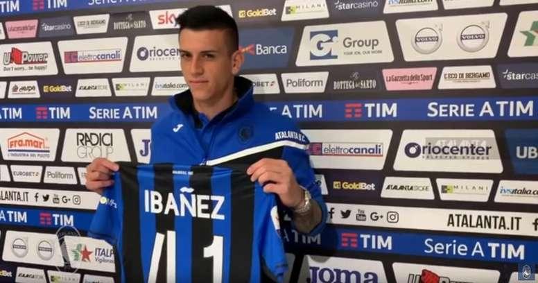 Ibañez podría ser jugador de la Roma. AtalantaBC