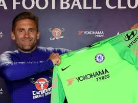 Rob Green signed for Chelsea before the Premier League window shut on August 9. Twitter/ChelseaFC