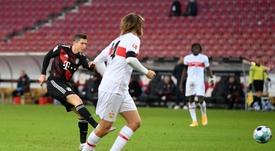 El Bayern tuvo que remontar. EFE