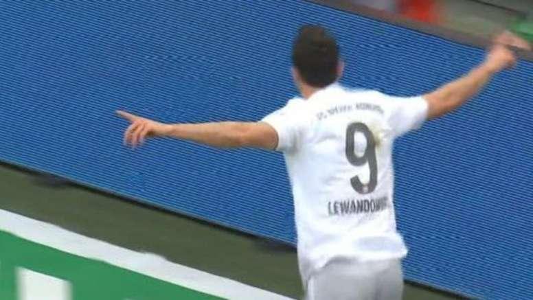 0-3 en 12 minutes du Bayern contre Cologne. Capture/Movistar+