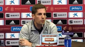 Robert Moreno, le sélectionneur de l'Espagne. . Captura/Twitter/SeFutbol