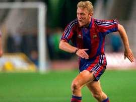 Robert Prosinecki, en su etapa en el FC Barcelona.
