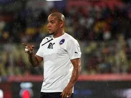 Roberto Carlos, avec le Delhi Dynamos. Twitter