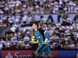 O goleiro do Botafogo deteve três pênaltis. Conmebol