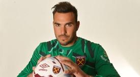 Roberto Jiménez no despega en el West Ham. WestHam