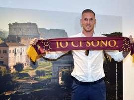 Olsen est un joueur de Rome. ASRoma