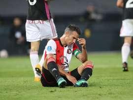 El Feyenoord quedó fuera de la Europa League. Twitter/Feyenoord