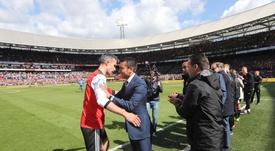 Así se despiden las leyendas: ¡hasta siempre, Van Persie! Feyenoord
