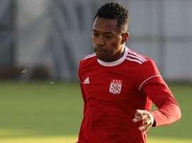 Robinho  quer voltar ao futebol brasileiro. Twitter/Sivasspor