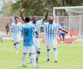 Robinson Aponzá, ariete del Alianza Atlético, anotó este fin de semana su vigésimo tercer gol. Depor