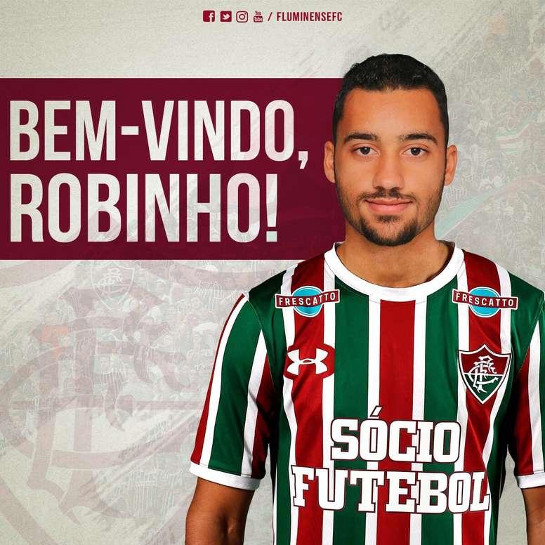 El atacante ha firmado por cuatro años. FluminenseFC