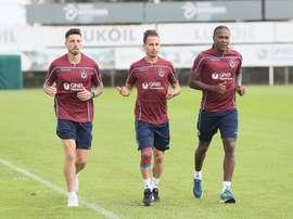 Rodallega sueña con jugar en el América. Trabzonspor
