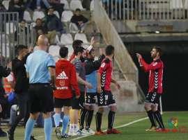 Rodri celebra el gol anotado ante el Córdoba. LaLiga