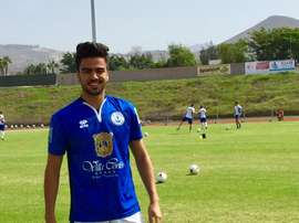Rodrigo Alves refuerza la plantilla del CD Marino. Twitter/CDMarino