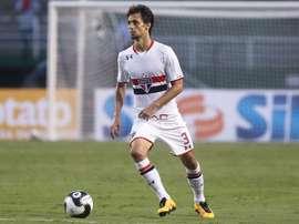 Rodrigo Caio está en el punto de mira del Nápoles. SaoPauloFC