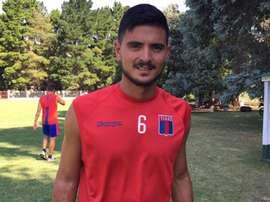 Rodrigo Erramuspe ha terminado su cesión en Tigre. TYCSports